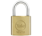 Thumbnail of Yale YE1 Essential 20mm Brass Padlock