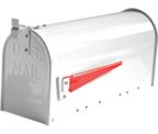 Thumbnail of US Mailbox - White Aluminium