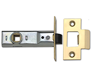 Union 2648 - Tubular Latch (91mm, Polished Brass)