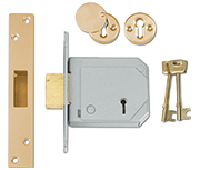 Thumbnail of Union 3G114E - BS 5 Lever Deadlock (80mm) - Keyed Alike