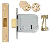 Thumbnail of Union 3G114E - BS 5 Lever Deadlock (80mm) - Keyed Alike