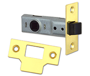 Union Essential - Tubular Latch (64mm, Polished Brass)