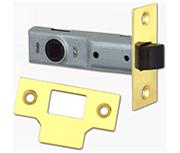 Union Essential - Tubular Latch (75mm, Polished Brass)