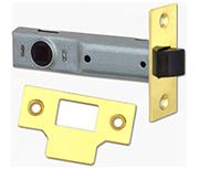 Union Essential - Tubular Latch (89mm, Polished Brass)