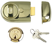 Yale Y3 - Standard Night Latch (60mm, Polished Brass)