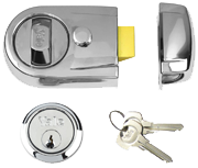 Thumbnail of Yale Y3 - Standard Night Latch (60mm, Polished Chrome)