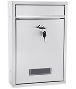 Popular - Stainless Steel Post Box