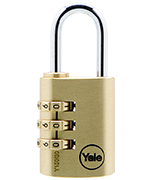 Thumbnail of Yale Y150 30mm Brass Combination Padlock