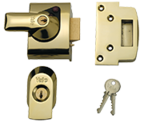Yale PBS2 - Auto Deadlocking Night Latch (40mm, Polished Brass)