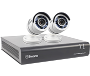 Swann DVR4-4550 4 Channel HD 1080p - 2 Camera CCTV Kit