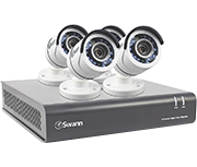 Thumbnail of Swann DVR4-4550 4 Channel HD 1080p - 4 Camera CCTV Kit
