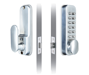 Codelocks CL160 - Easy Code (Satin Chrome)