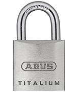 Thumbnail of ABUS TITALIUM 64TI/25 Padlock - Keyed Alike