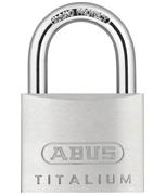 Thumbnail of ABUS TITALIUM 64TI/50 Padlock - Keyed Alike