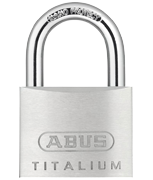Thumbnail of ABUS TITALIUM 64TI/50 Padlock - Keyed Alike