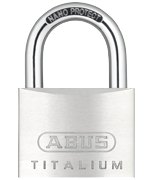 Thumbnail of ABUS TITALIUM 64TI/60 Padlock - Keyed Alike
