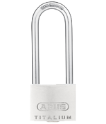 ABUS TITALIUM 64TI/40 Long 63mm Shackle Padlock - Keyed Alike