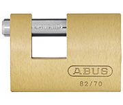 Thumbnail of ABUS Monoblock 82/70 Shutter Padlock - Keyed Alike