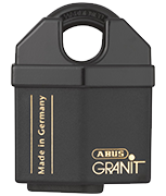 Thumbnail of ABUS GRANIT 37/60 Closed Shackle High Security Padlock - Keyed Alike
