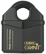 Thumbnail of ABUS GRANIT 37/80 Closed Shackle High Security Padlock - Keyed Alike