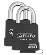 Thumbnail of ABUS Extreme 83WP/63 High Security Marine Grade Padlock (2 pack)