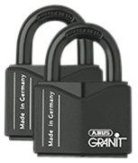 Thumbnail of ABUS GRANIT 37/55 High Security Padlock (3 pack)