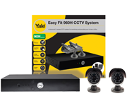 Thumbnail of Yale Easy Fit 960H 2 Camera CCTV Kit