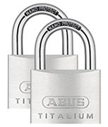 ABUS TITALIUM 64TI/60 Padlock (2 pack)