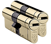 Thumbnail of Avocet ABS 3 Star - Euro Double Cylinder 35 - 35 (70mm Polished Brass) - Twin Pack