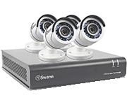 Swann DVR8-4575 8 Channel HD 1080p - 4 Camera CCTV Kit