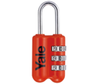 Thumbnail of Yale YP2 Red Combination Travel Padlock