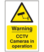 Thumbnail of CCTV Self Adhesive Warning Sign