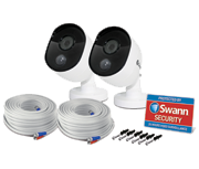 Swann Outdoor HD 1080p True Detect CCTV Camera (Twin Pack)
