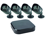 Yale Smart Home 8 Channel HD 1080p - 4 Camera CCTV Kit