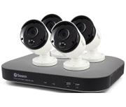 Swann DVR8-4780 8 Channel 3 Megapixel - 4 Camera True Detect CCTV Kit