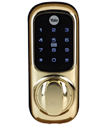 Yale Keyless Connected Smart Lock Kit - Brass