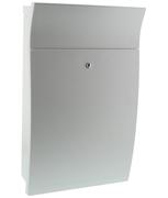 Esprit White - Plastic Post Box