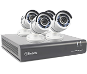 Thumbnail of Swann DVR8-4550 8 Channel HD 1080p - 4 Camera CCTV Kit