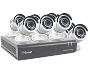 Thumbnail of Swann DVR8-4550 8 Channel HD 1080p - 8 Camera CCTV Kit