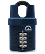 Squire CP40 Closed Shackle Combination Padlock