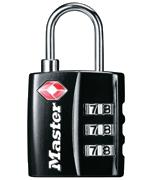 Master Lock 4680B Combi Padlock - TSA Approved