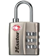 Master Lock 4680S Combi Padlock - TSA Approved