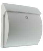 Classico White - Plastic Post Box
