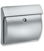 Classico Silver - Plastic Post Box
