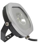 Thumbnail of Asec Black 10W Ultra Slim Oval LED Floodlight