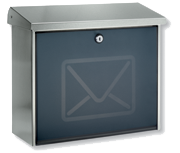 Thumbnail of Lucca Letter - Stainless Steel Post Box