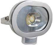 Thumbnail of Asec White 10W Ultra Slim Oval LED PIR Floodlight