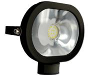 Thumbnail of Asec Black 20W Ultra Slim Oval LED PIR Floodlight