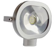 Thumbnail of Asec White 20W Ultra Slim Oval LED PIR Floodlight