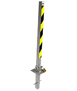 Thumbnail of Autolok KFTB/S Tall Folding Parking Post